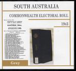 South Australia Commonwealth Electoral Roll 1943 Grey