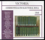 Victoria Commonwealth Electoral Roll 1946