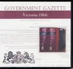 Victorian Government Gazette 1866
