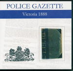 Victoria Police Gazette 1888