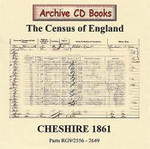 Cheshire 1861 Census