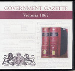 Victorian Government Gazette 1867