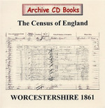 Worcestershire 1861 Census