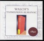 Walch's Tasmanian Almanac 1892