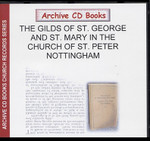 The Account Books of St George and St Mary in the Church of St Peter, Nottingham
