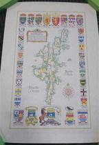 Heraldic Map of Shetland