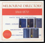 Melbourne Directory Compendium 1866-1870 (Sands and McDougall)