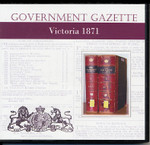 Victorian Government Gazette 1871