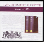 Victorian Government Gazette 1873