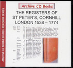 London Parish Registers: St Peter's, Cornhill 1538-1774