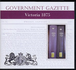 Victorian Government Gazette 1875