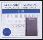 Melbourne Almanac and General Intelligencer 1858 (Williams)