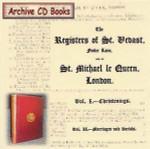 London Parish Registers: St Vedast and St Michael le Quern, London