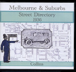 Melbourne and Suburbs Street Directory 1936 (Collins)