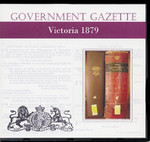 Victorian Government Gazette 1879