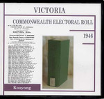 Victoria Commonwealth Electoral Roll 1946 Kooyong