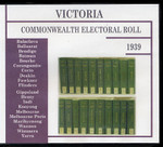Victoria Commonwealth Electoral Roll 1939