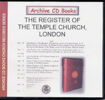 London Parish Registers: Temple Church, London