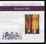 Victorian Government Gazette 1882