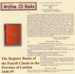 London Parish Registers: Fourth Classis in the Province of London 1646-59