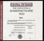 Visitation of Somersetshire 1623