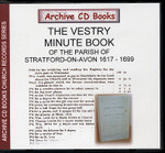 The Vestry Minute Book of the Parish of Stratford-on-Avon 1617-1699