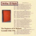 London Parish Registers: St Michael, Cornhill 1546-1754