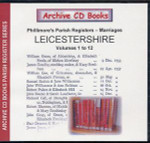 Leicestershire Phillimore's Parish Registers (Marriages) Volumes 1-12