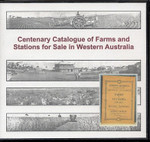Centenary Catalogue of Farms and Stations for Sale in Western Australia