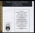 Shropshire 1851 Bagshaw's History, Gazetteer and Directory