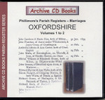 Oxfordshire Phillimore's Parish Registers (Marriages) Volumes 1-2