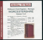 Worcestershire Phillimore's Parish Registers Volumes 1-2