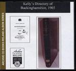 Buckinghamshire 1903 Kelly's Directory