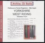 Yorkshire Phillimore's Parish Registers (Marriages) Volumes 1-4