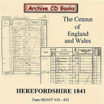 Herefordshire 1841 Census