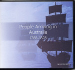 People Arriving in Australia 1788-1828 (CD)