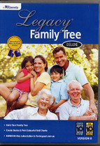Legacy Family Tree 8 Deluxe Australia/New Zealand Edition