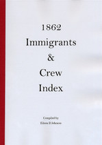 1862 Immigrants and Crew Index