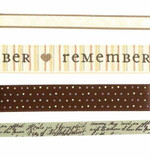Karen Foster Ribbon Trimming: Ancestry (set of 4)