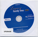 Legacy Family Tree 8 Deluxe Upgrade Australia/New Zealand Edition