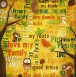 Karen Foster 12x12 Kids Ancestry Family Fun Collage