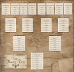 Karen Foster 12x12 Our Family Tree Chart