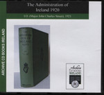 The Administration of Ireland 1920