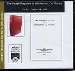 Surrey Parish Registers: Wimbledon 1539-1812