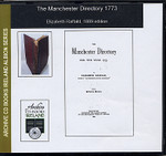 Manchester Directory 1773
