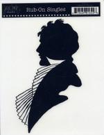 Jenni Bowlin Rub-on Silhouette Gentleman