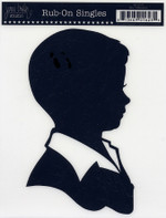 Jenni Bowlin Rub-on Silhouette Boy