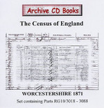 Worcestershire 1871 Census