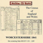 Worcestershire 1841 Census