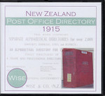 New Zealand Post Office Directory 1915 (Wise)